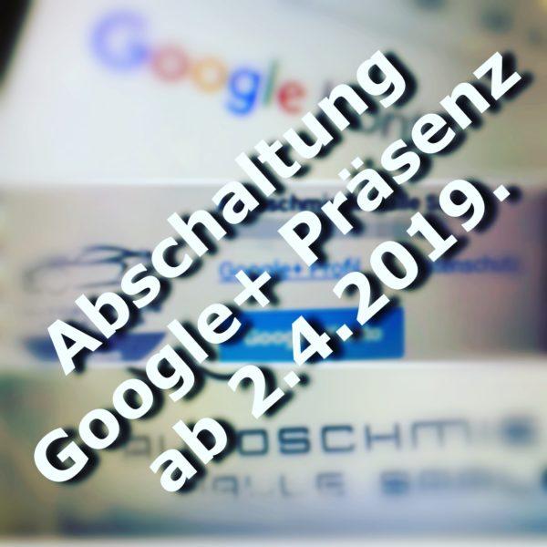 Google+ schaltet ab